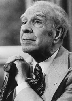 Fotografía de Jorge Luis Borges