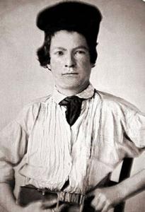 Mark Twain cuando era adolescente