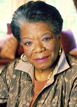 Fotografía de Maya Angelou