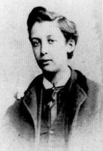 Oscar Wilde en la adolescencia