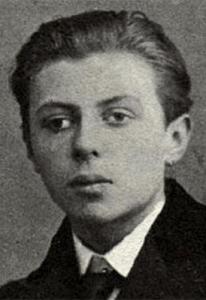 Jean-Paul Sartre en su adolescencia