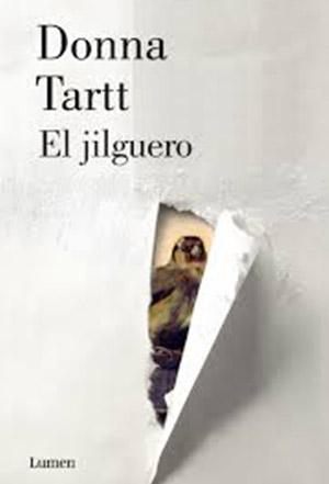 Portada de El jilguero, la novela de Donna Tartt