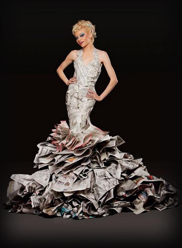 Vestidos Hechos De Reciclaje Vestidos De 2016 | vestidos