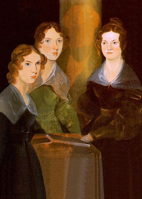 Las hermanas Brontë retratadas por su hermano Branwell