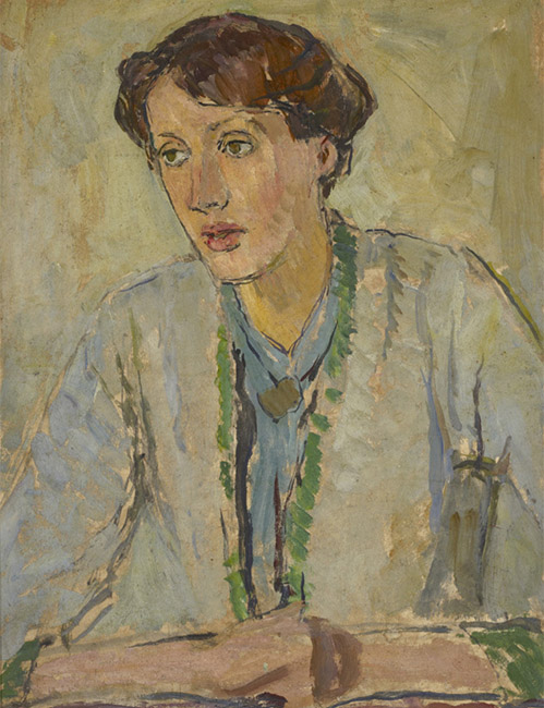 Retrato de Virginia Woolf por Vanessa Bell