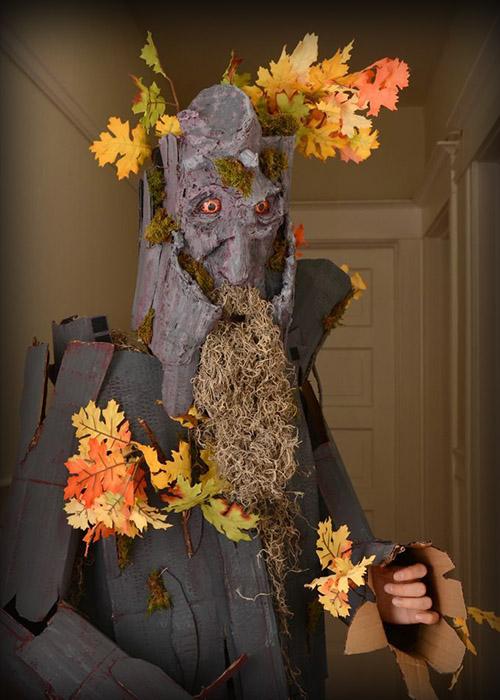 Disfraz de Bárbol, personaje de El señor de los anillos