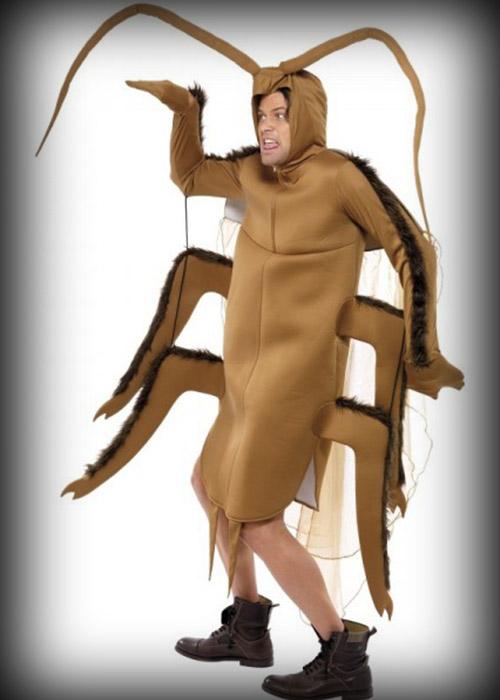 Disfraz de Gregor Samsa, de la Metamorfosis
