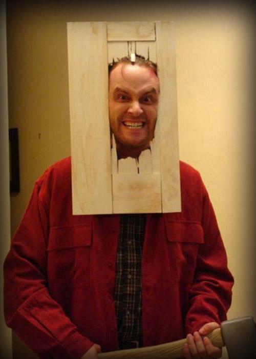 Disfraz de Jack Torrance, de El resplandor