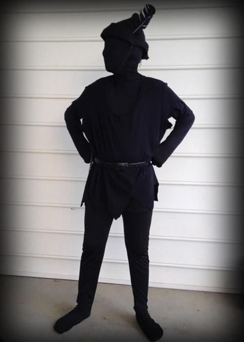 Disfraz de la sombra de Peter Pan