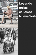 Leyendo en las calles de Nueva York