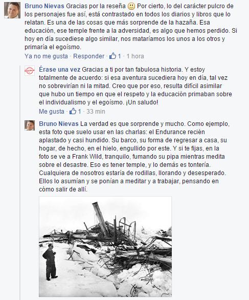 Comentario de Bruno Nievas sobre la reseña de Érase una vez