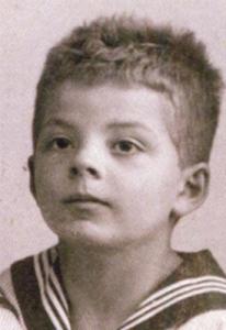 Antoine de Saint Exupéry, el autor de El Principito, de niño