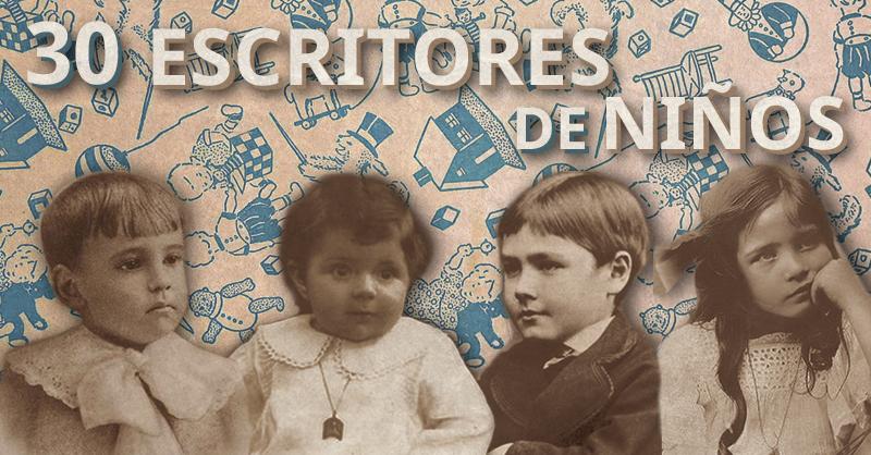 30 escritores cuando eran niños