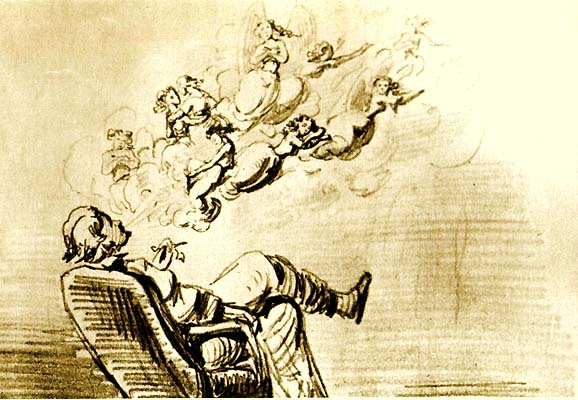 Gustavo Adolfo Bécquer autorretrato El poeta y las musas