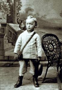 Hermann Hesse de niño