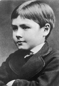 Rudyard Kipling en su niñez