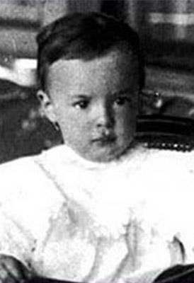 Vladimir Nabokov de bebé