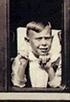 Charles Bukowsky de niño