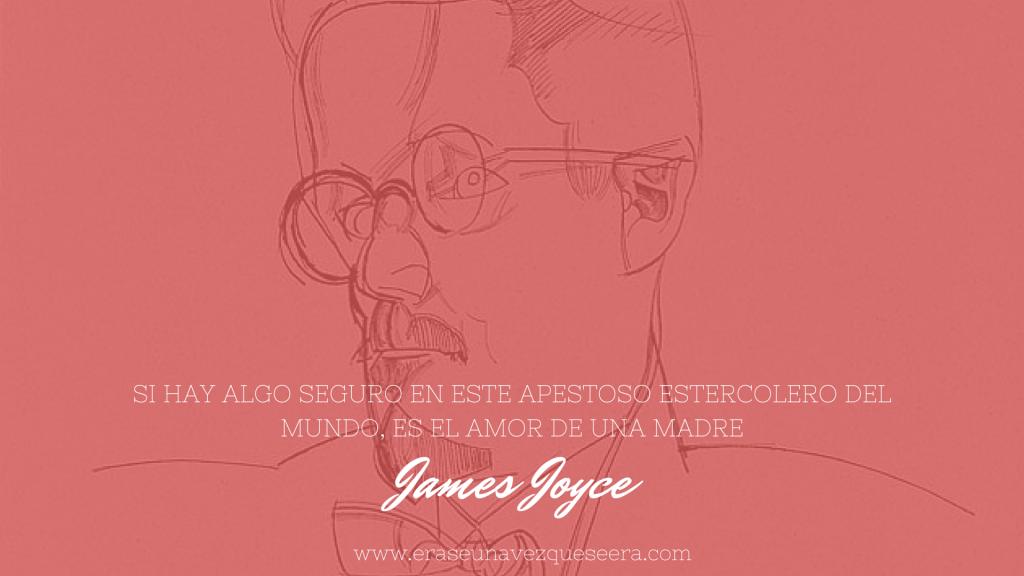 cita de James Joyce sobre las madres