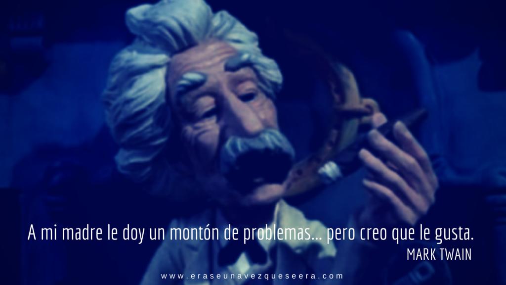 Mark Twain, reflexión sobre su madre