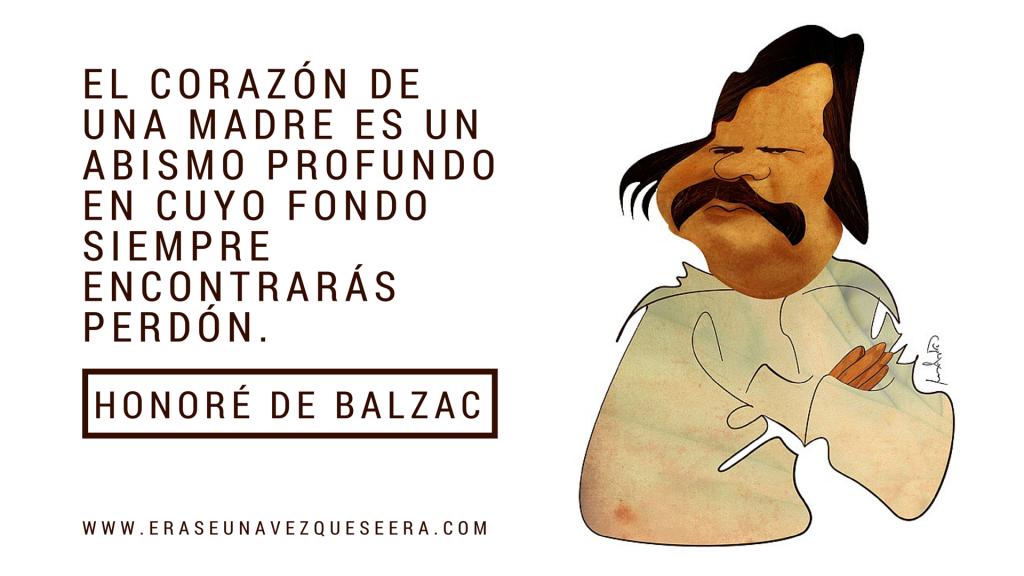 cita de Honoré de Balzac a las madres