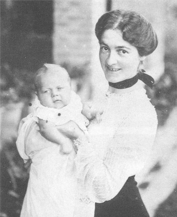 George Orwell y su madre