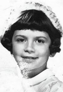 Isabel Allende de niña