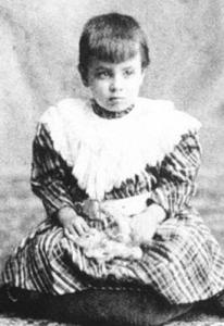 Jorge Luis Borges cuando era solo un niño