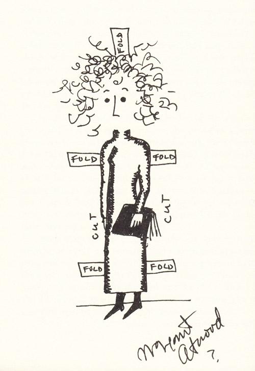 Autorretrato de Margaret Atwood