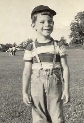 Stephen King cuando era un niño