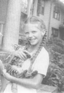Sylvia Plath de niña