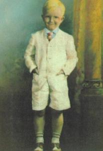 Truman Capote en una simpática imagen de su infancia