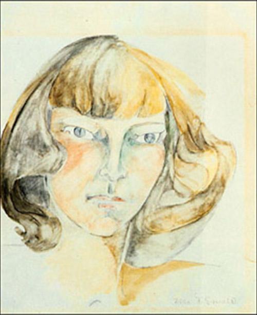 Zelda Fitzgerald. Autorretrato