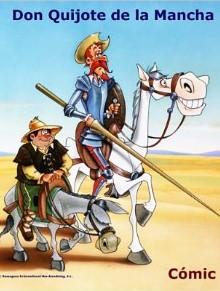 Don Quijote, el cómic basado en la popular serie de televisión