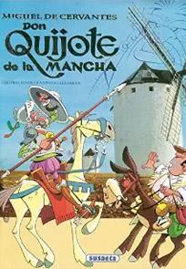 Don Quijote de la Mancha, adaptación de Susaeta