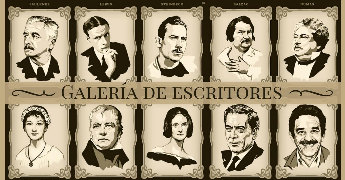Galería de miniatura de escritores
