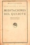 Meditaciones del Quijote, de José Ortega y Gasset