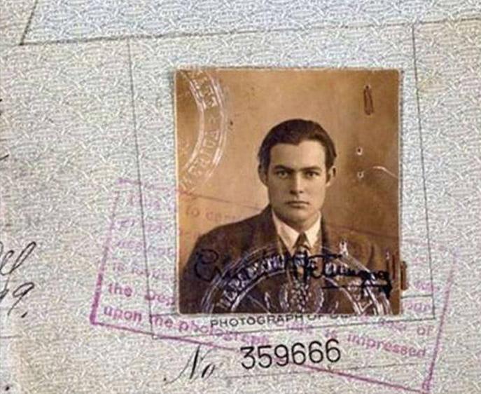 Hermingway, pasaporte de 1223