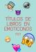 Titulos de libros en emoticonos