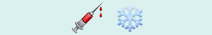 A sangre fría en emoticonos