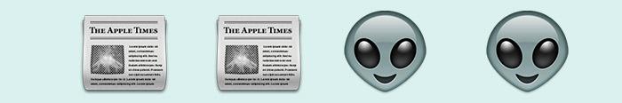 Crónicas marcianas en emoticonos