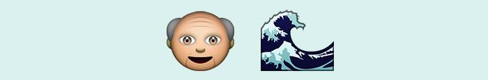 El viejo y el mar en emoticonos
