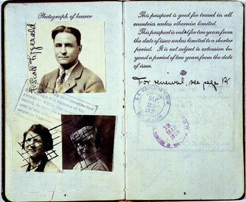 Pasaporte de la familia Fitzgerald