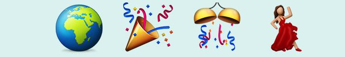 Un mundo feliz en emoticonos