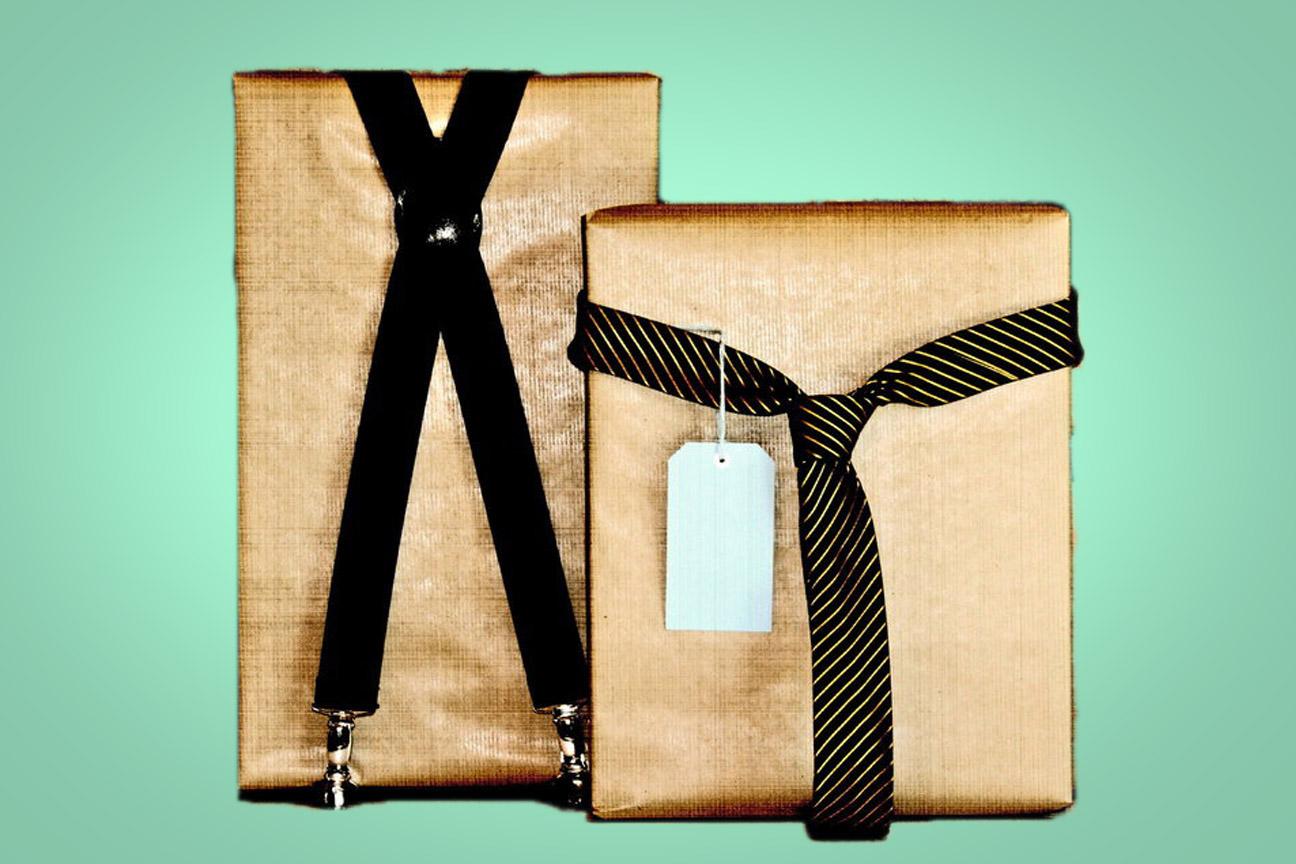 Una idea para envolver libros de regalo para él