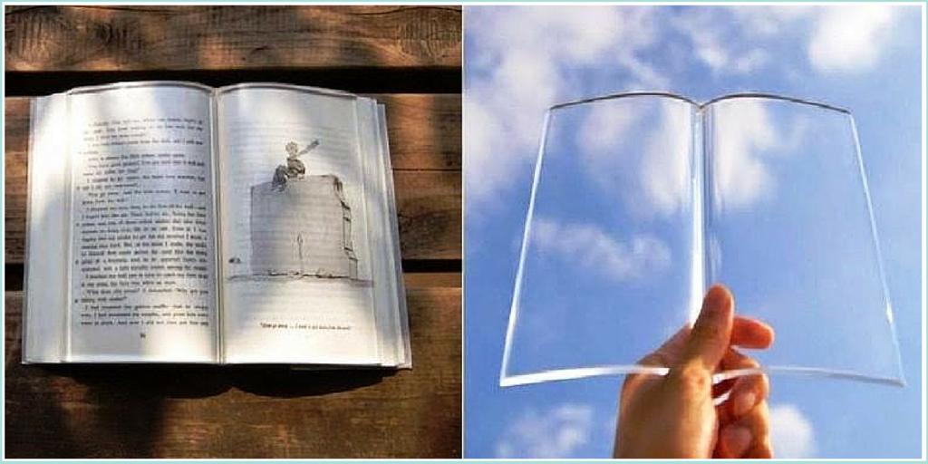 Inventos frikis para lectores: peso transparente para que las hojas no se vuelen