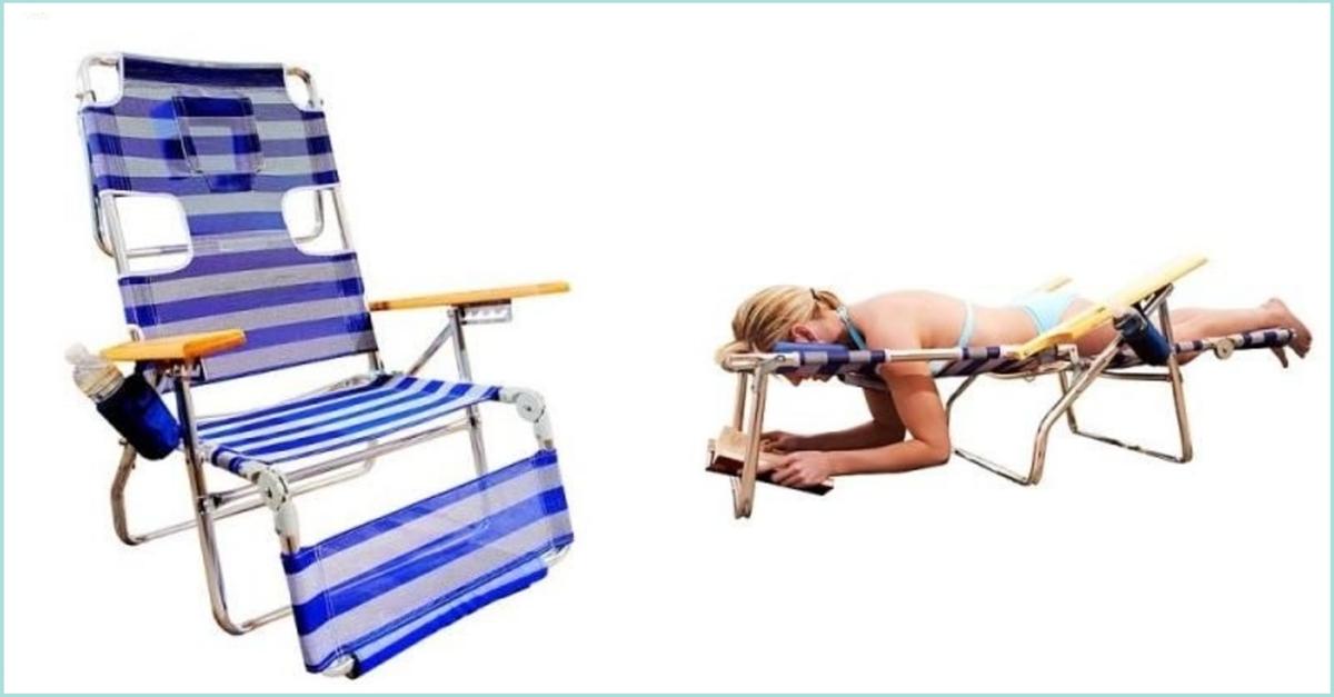 Inventos frikis para lectores: hamaca para leer en la playa