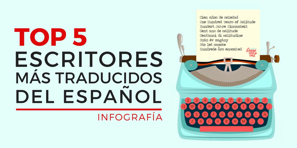 Los escritores más traducidos del español.