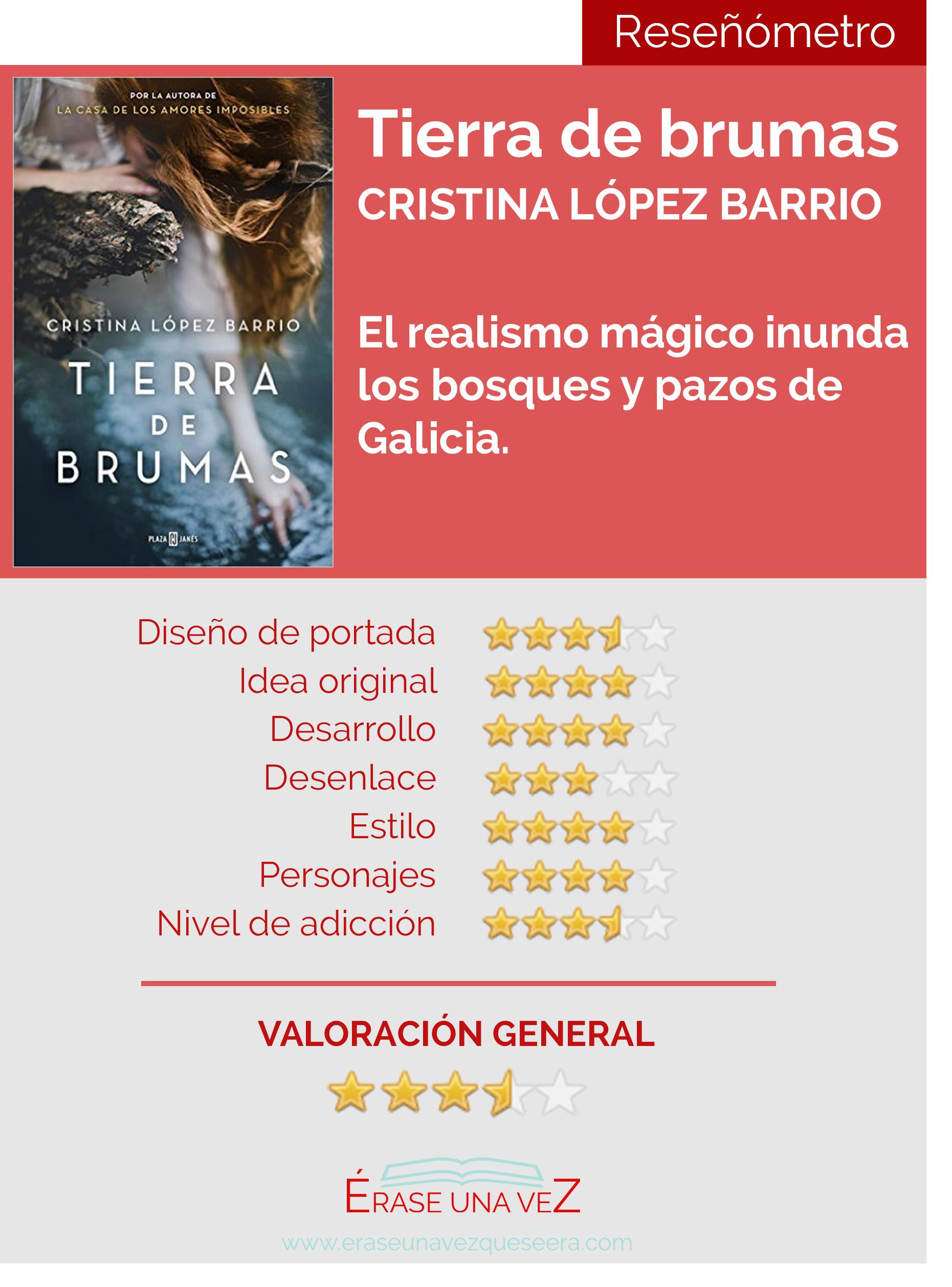 Tierra de Brumas, de Cristina López Barrio. Reseñómetro