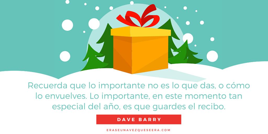 Divertida cita navideña de Dave Barry